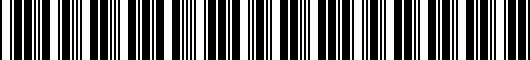 Barcode for 9046720010