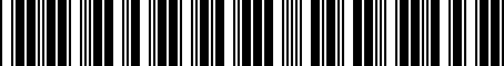 Barcode for PT2123407D