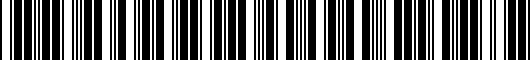 Barcode for PT22835960HP