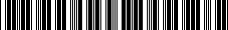 Barcode for PT39803123