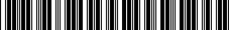 Barcode for PT79108041