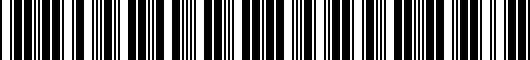 Barcode for PU06003180TP
