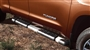 View Brushed Stainless Steel Step Boards - CrewMax. Running Boards.  Full-Sized Product Image